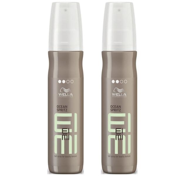 2-pack Wella EIMI Ocean Spritz Salt Spray 150ml Transparent