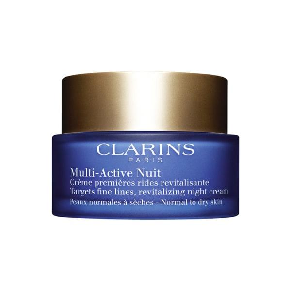 Clarins Multi-Active Night Cream Normal To Dry Skin 50ml Transparent