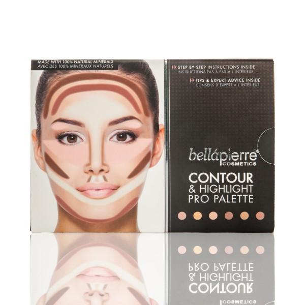 Bellapierre Contour & Highlighting Pro Palette Transparent