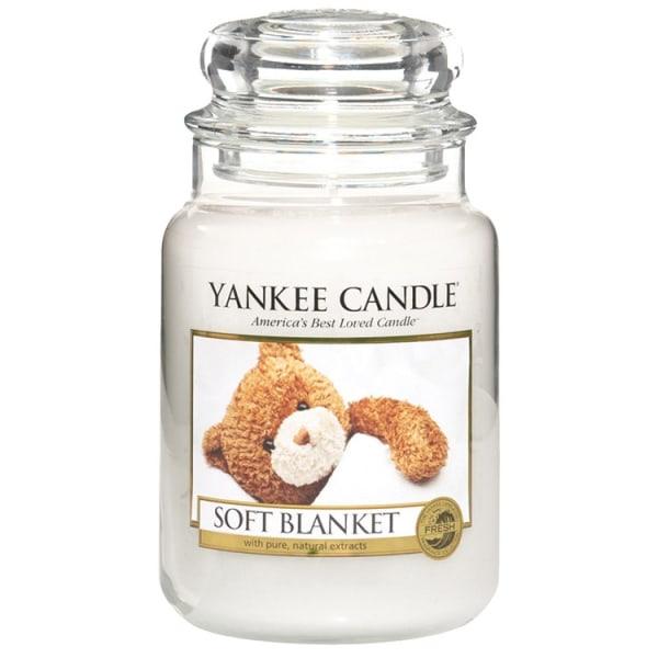Yankee Candle Classic Large Jar Soft Blanket Candle 623g Vit