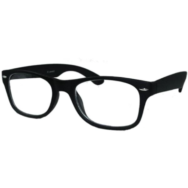 """ColorAy Läsglasögon """"Bella"""" Svart matt svart +1.50"""