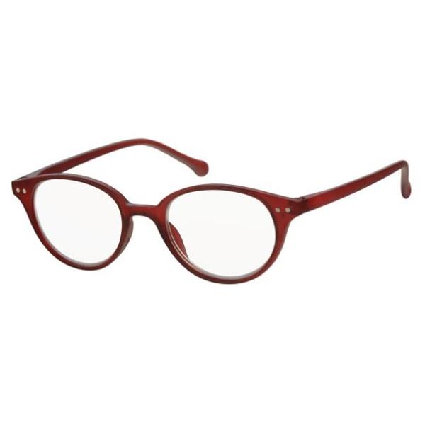 Coloray läsglasögon Cuneo, Röd +1.50 - + 3.00 röd +2.00