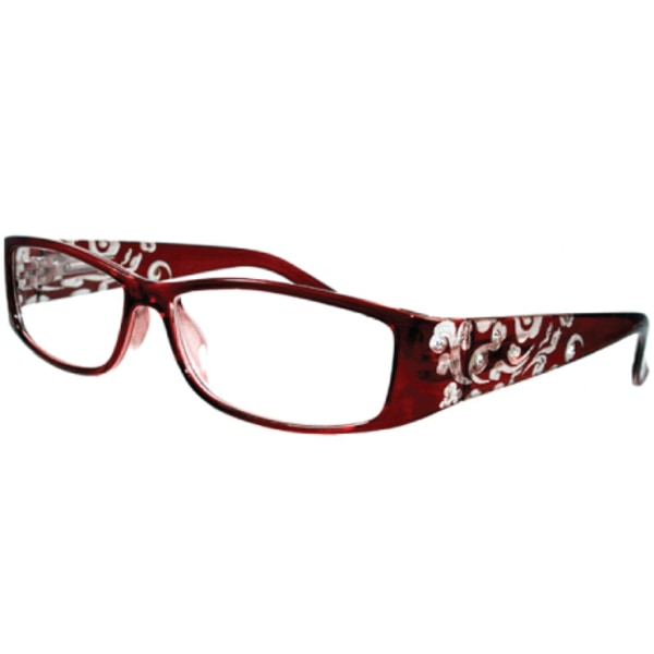ColorAy läsglasögon Ravello Röd +1.00- +4.00 röd +3.00