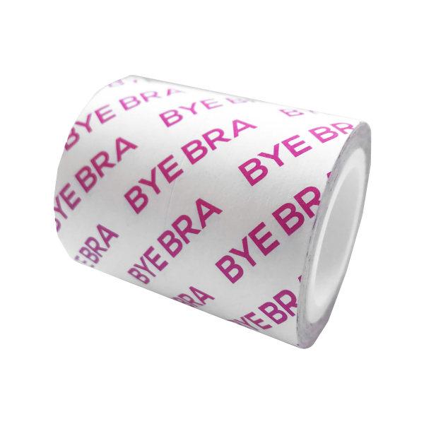 Bye Bra: Breast Tape Roll, 3m x 5cm + Satin Nipple Covers, 3 ... Hudfärgad, Transparent