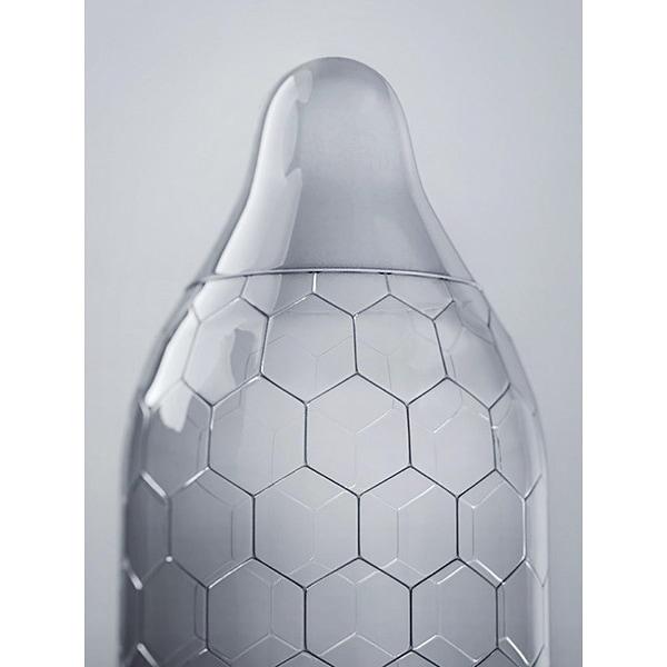 LELO: HEX, Kondomer Transparent 12-pack