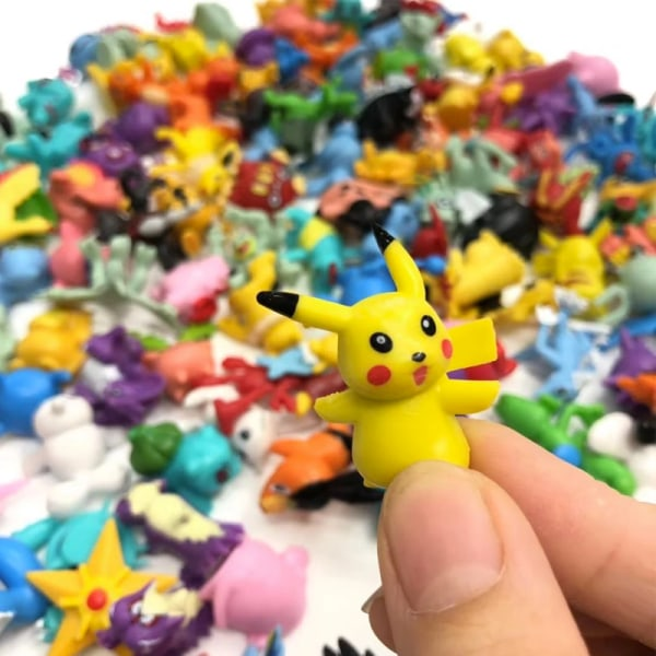 24 st Pokémon Figurer | Samlar Mini Pokémon
