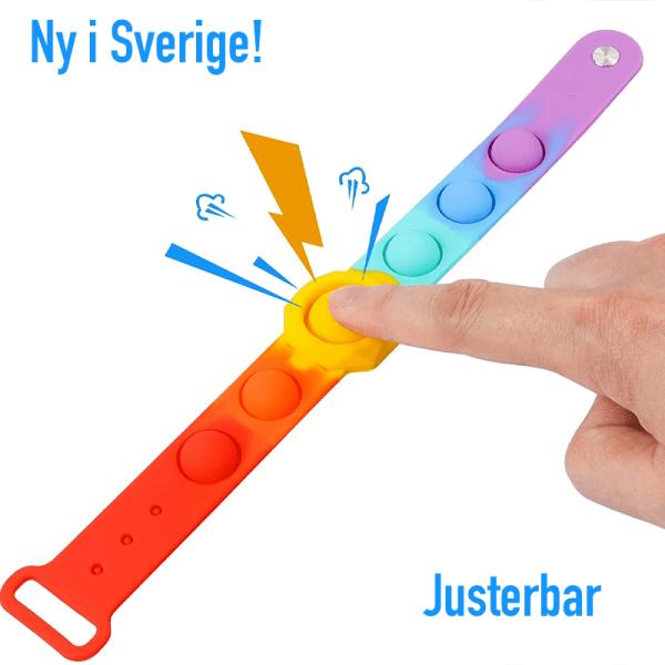 Pop-it armband 2-pack   Justerbar   Fidget Toys