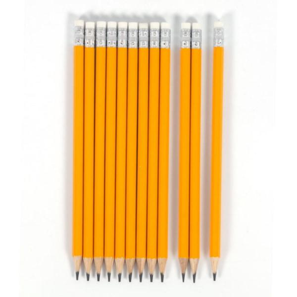 Blyertspenna 10-pack skolstart bra sudd | 18,5 cm 10-pack