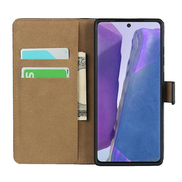 iCoverCase   Samsung Galaxy Note 20   Plånboksfodral   Svart