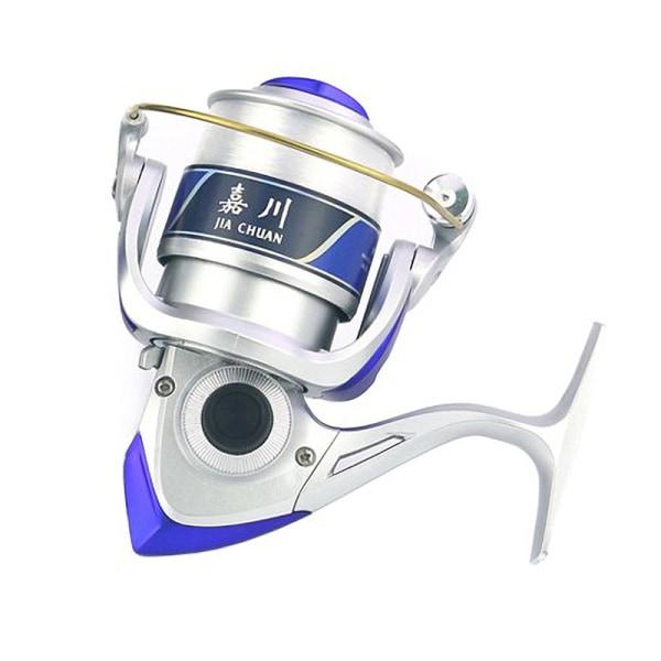 12 Kullager 5,5: 1 Fiske Haspelrulle Lätt + linje Silver 3000