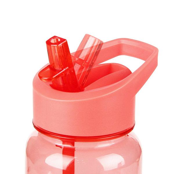 720 ml sportvattenflaska BPA-fri läckagesäker kopp med / sugrör Rosa