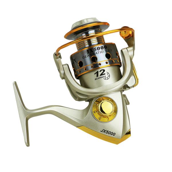 Fiske Haspelrulle Saltvatten Sötvatten Metall 10 + 2BB 5.1: 1 2000