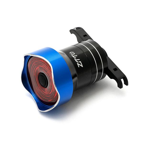 Smart cykel bakljus Auto Start / Stop Brake Sensing IP65 Blå