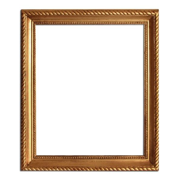 25x33 cm eller 10x13 tum, fotoram i guld Guld