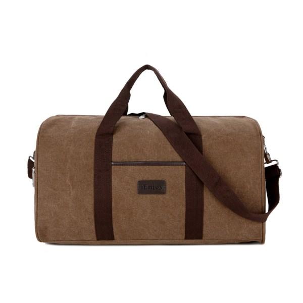 STOR brun weekendväska eller träningsväska i slitstark tyg Brun one size