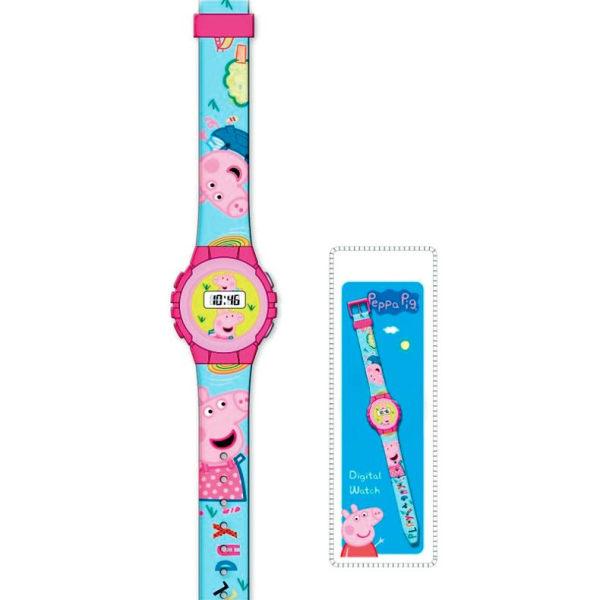 PEPPA PIG Digital armbandsklocka Greta Gris Klocka.