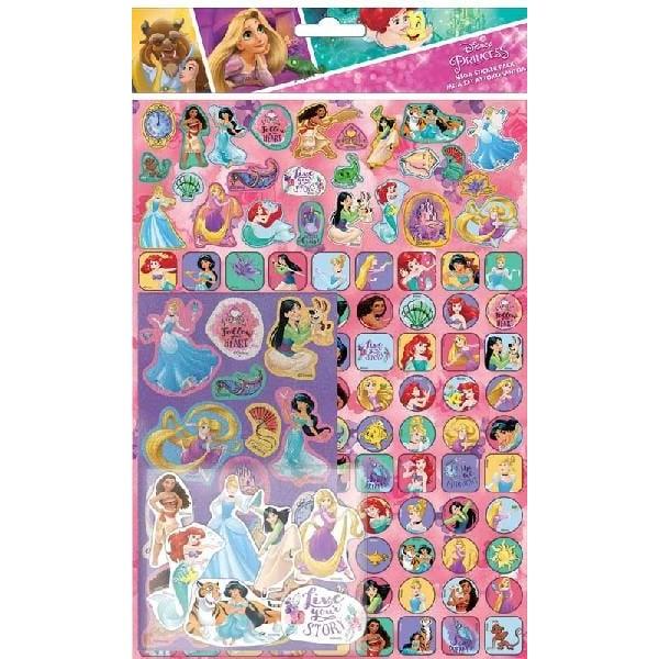Disney Princess 150 st klistermärken