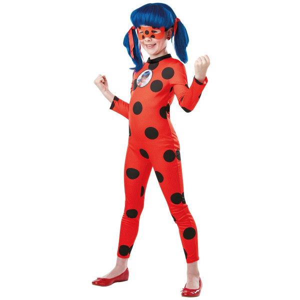 Miraculous ladybug deluxe 122/128 cl (7-8 år) dräkt