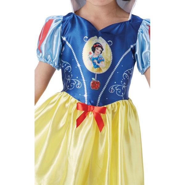 Snövit 110/116 cl (5-6 år) klänning