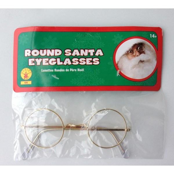 Tomteglasögon runda glasögon tomte jultomte