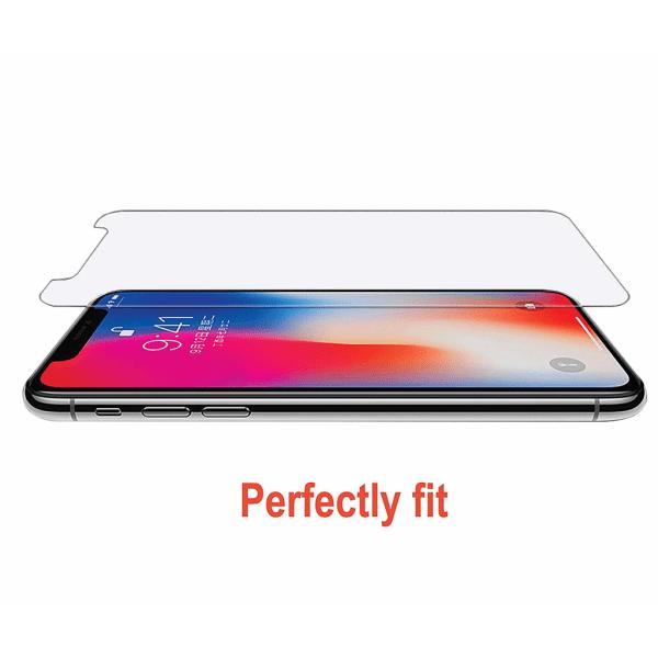 Skärmskydd iPhone X / XS Härdat glas Transparent
