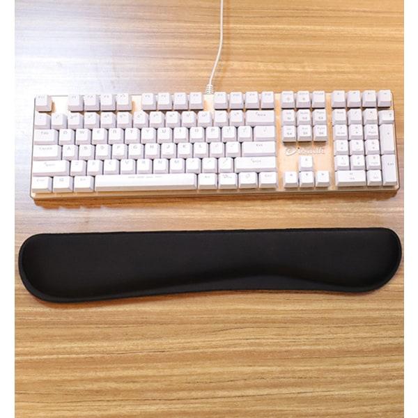 Handledsstöd för tangentbord Memoryskum Svart