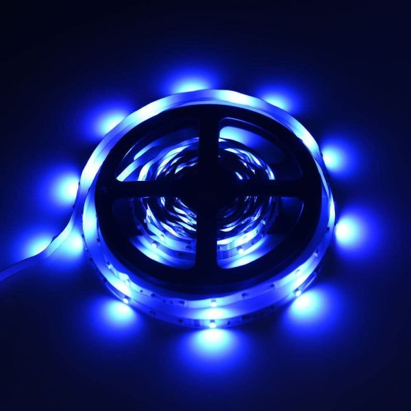 Färgskiftande LED-ljusslinga 300 RGB-lampor (5 m)