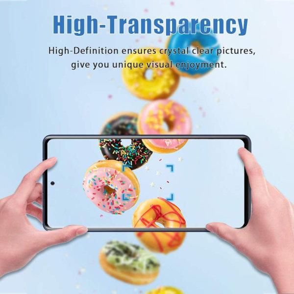 Skärmskydd Samsung A20 Härdat glas Transparent 2-pack