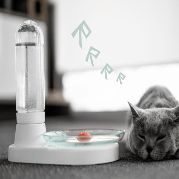 Vattenfontän för katter (420 ml) vattendispenser utan ström
