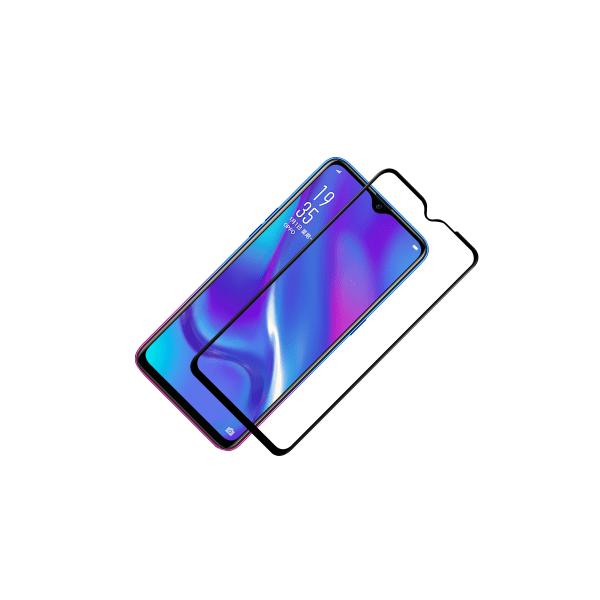 Skärmskydd Samsung Galaxy A20E Härdat glas Svart