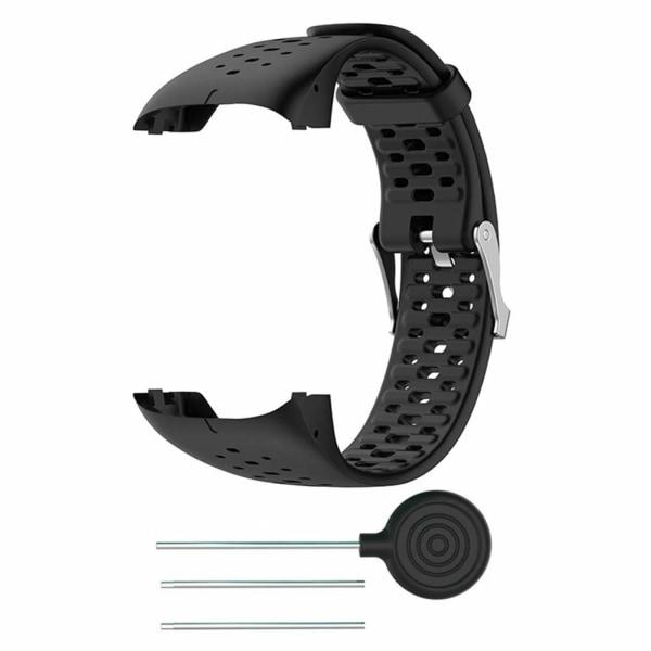 Polar M400 / M430 träningsklocka armband silikon Svart