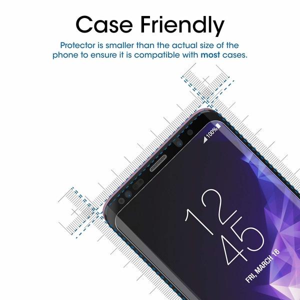 Skärmskydd Samsung Galaxy S9 Plus Härdat glas