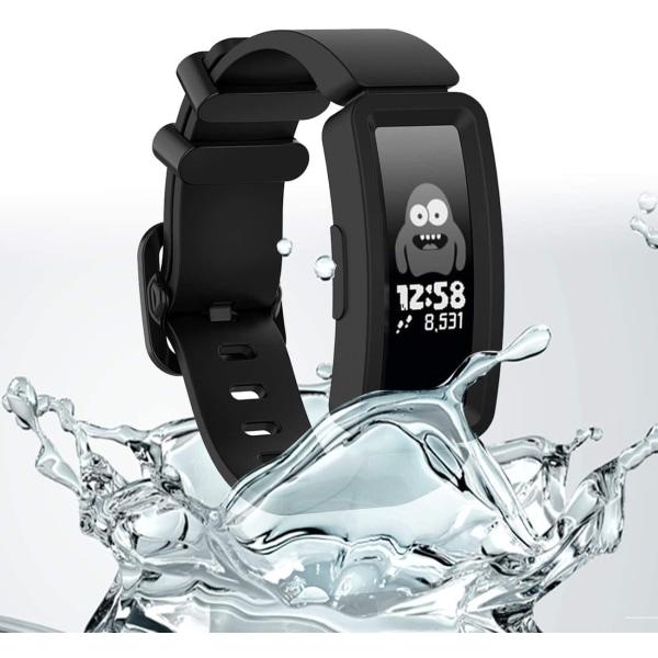 Fitbit Ace 2/Inspire/Inspire HR armband silikon Svart