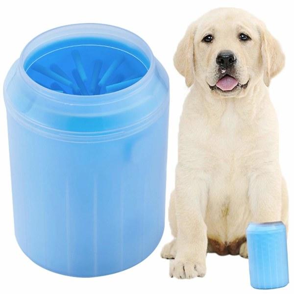 Tassrengörare för hund Small Blå