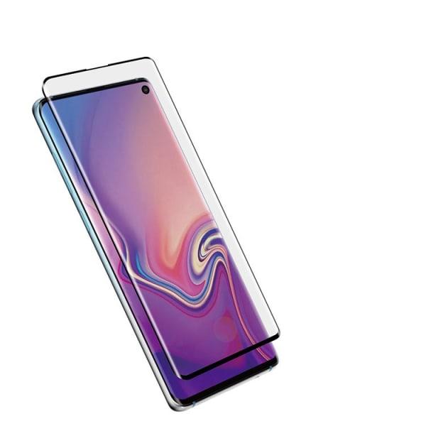 Skärmskydd Samsung Galaxy S10 Härdat glas Transparent