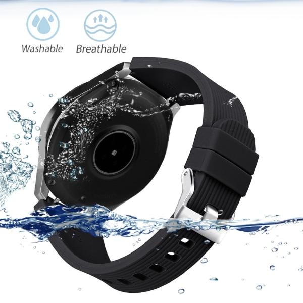 Armband Samsung Galaxy Watch 46 mm - svart - L