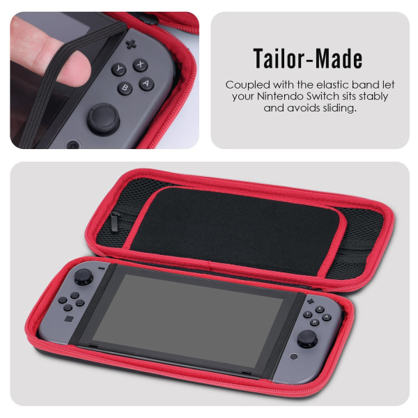 Stöttålig Nintendo Switch väska - travel case