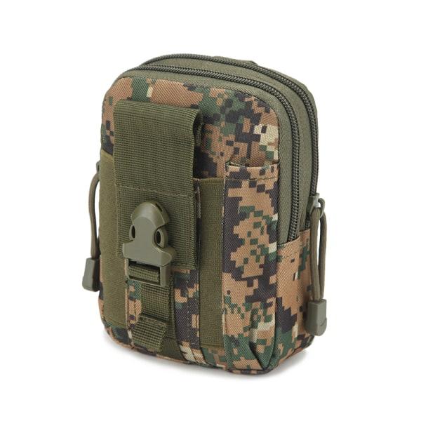 Midjeväska MOLLE-system Camouflage