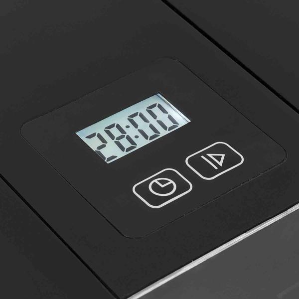 Glassmaskin Rostfri 1,5l LCD