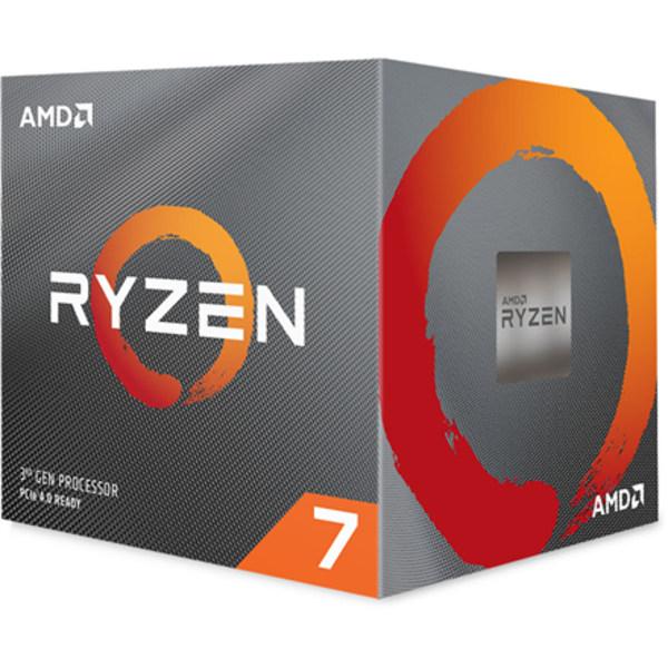 AMD Ryzen 7 3800X, 3,9 GHz, AM4, Processortrådar 16, Packing Re