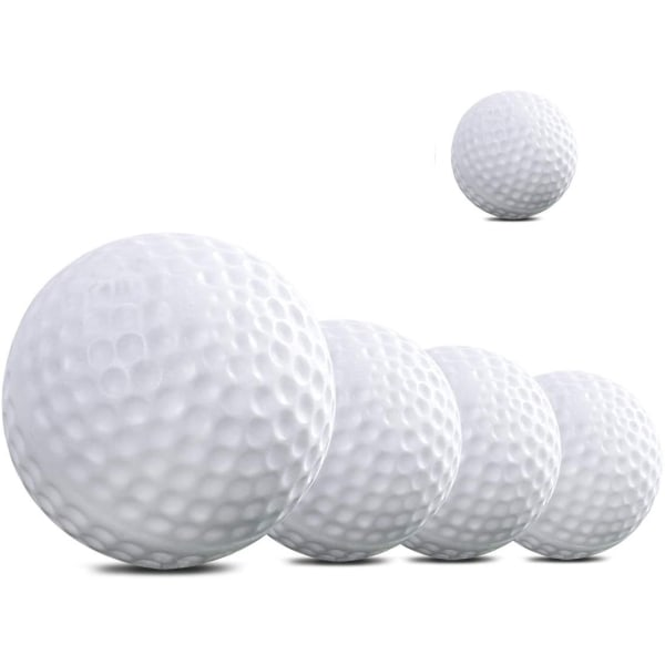 Golfbollar 5-pack övningsbollar Vit