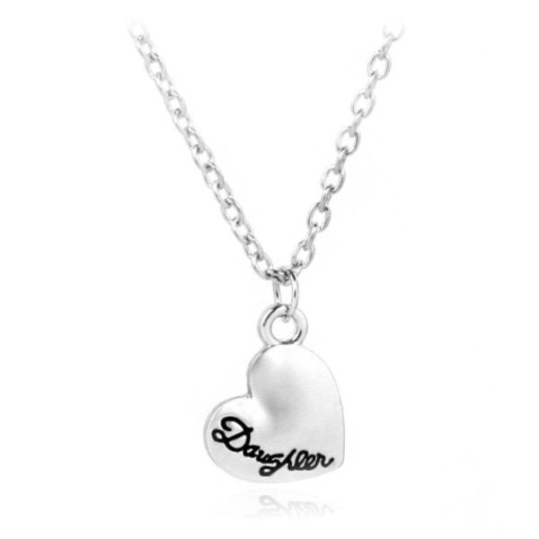 Halsband Medaljong Mamma Dotter Silver