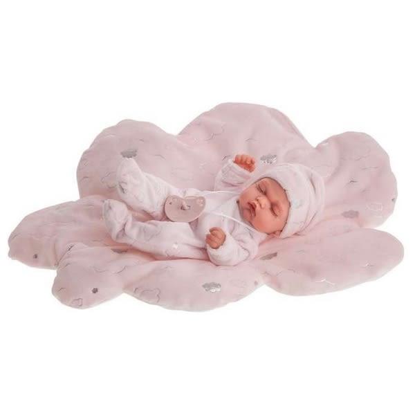 Babydocka med tillbehör Antonio Juan Pitu Luni Rosa (26 cm)
