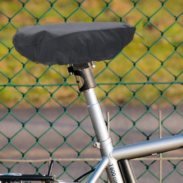 Vattentät sadelskydd för cykel Svart (L)