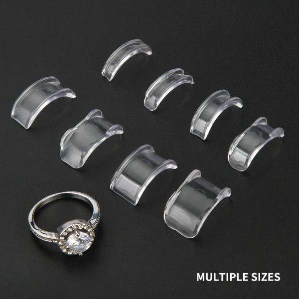 Ringjusterare för anpassning av ringstorlek 8 st