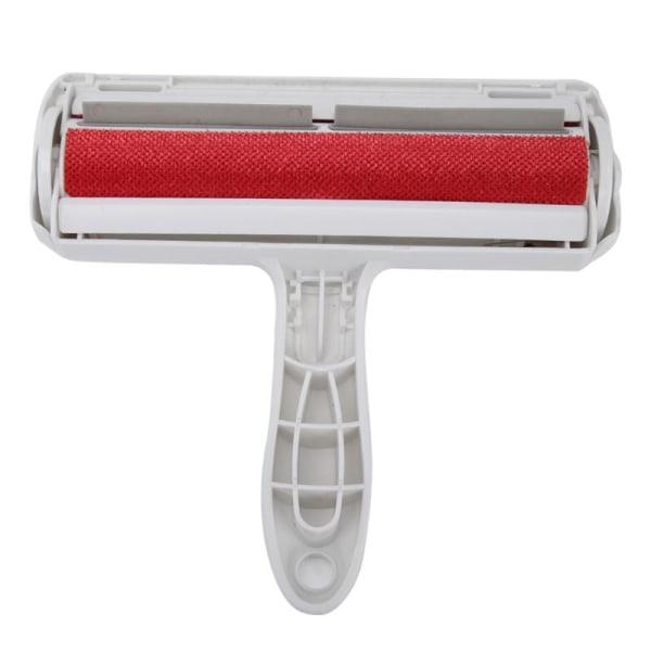 Pälsborttagare / luddrulle för hår från husdjur Röd