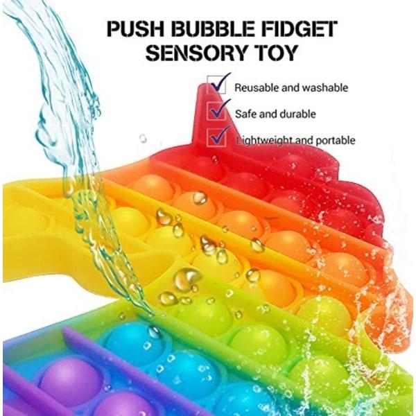 Fidget toy Enhörning Regnbågsfärger