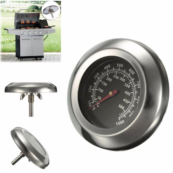 Analog stektermometer för grill Rostfritt stål 6x39.5 mm