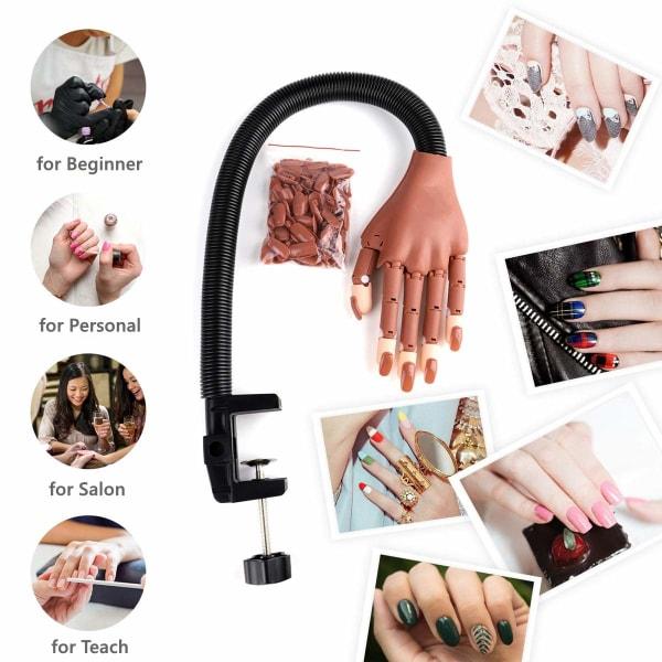 Nail Art Träningshand för naglar