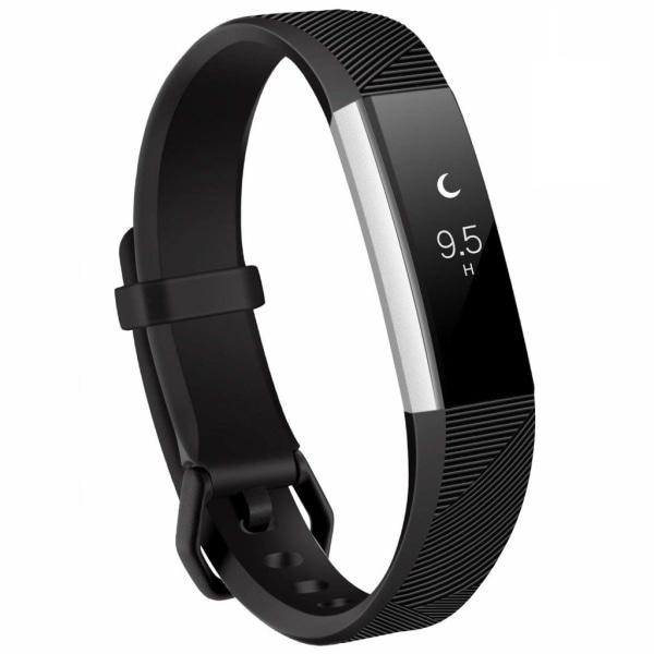 Fitbit Alta / HR armband silikon Svart (S)